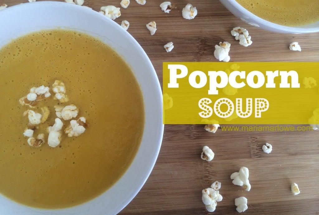 popcorn soup
