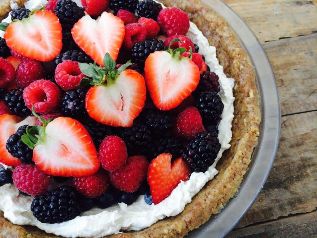 raw berry tart recipe