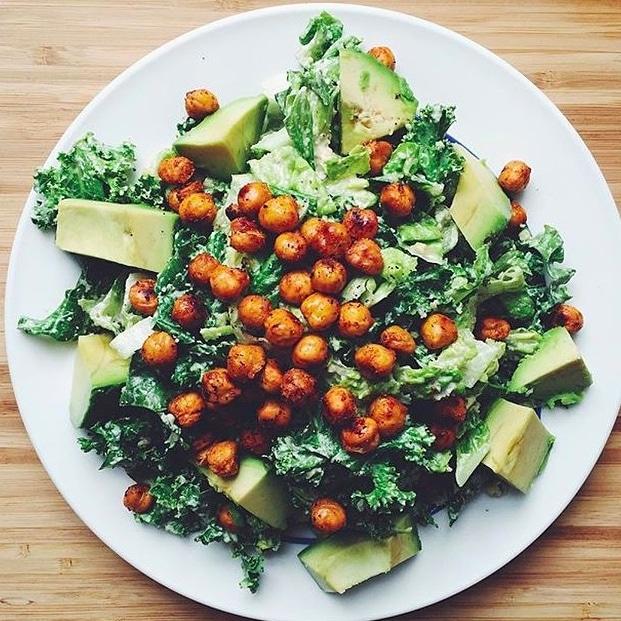 vegan caesar salad oh she glows
