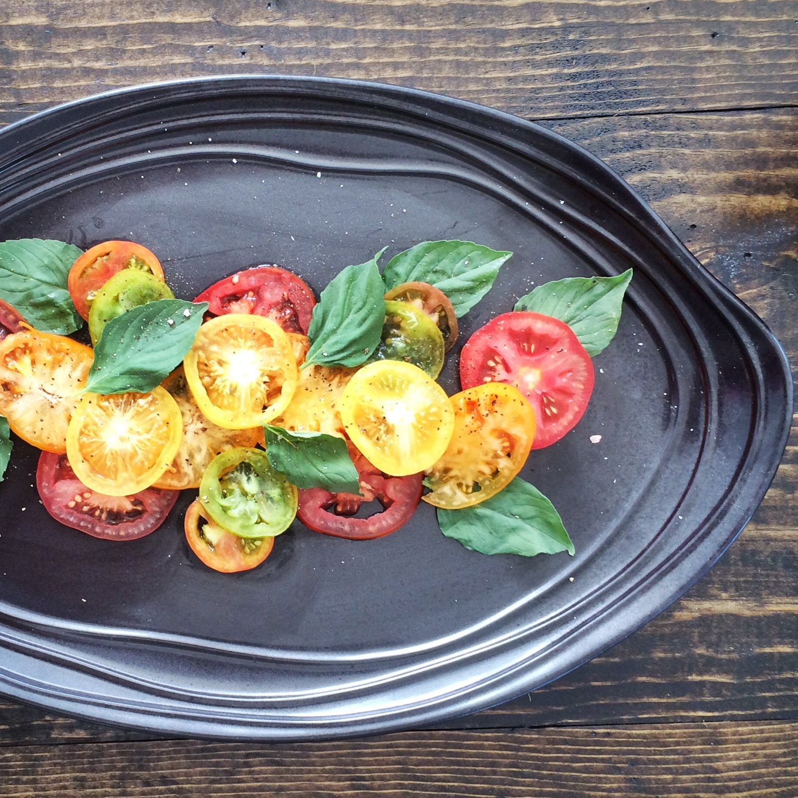 Heirloom Tomato Salad Recipe Maria Marlowe