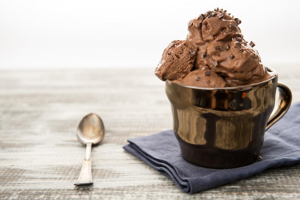Chocolate Ice Cream Maria Marlowe