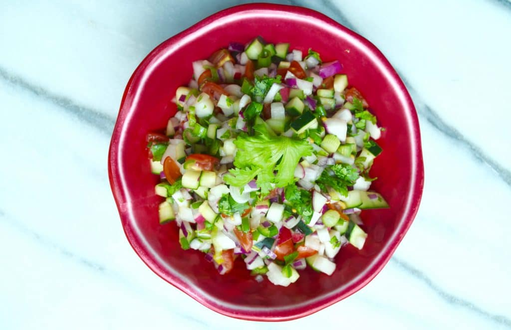 slimming Radish salsa maria marlowe 2