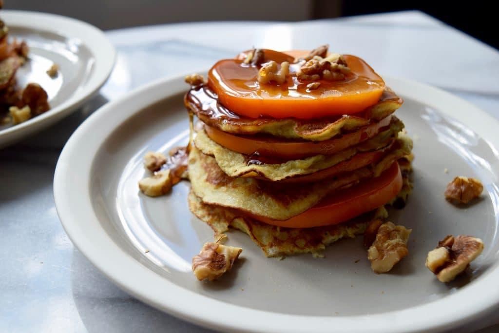 persimmon-paleo-pancakes