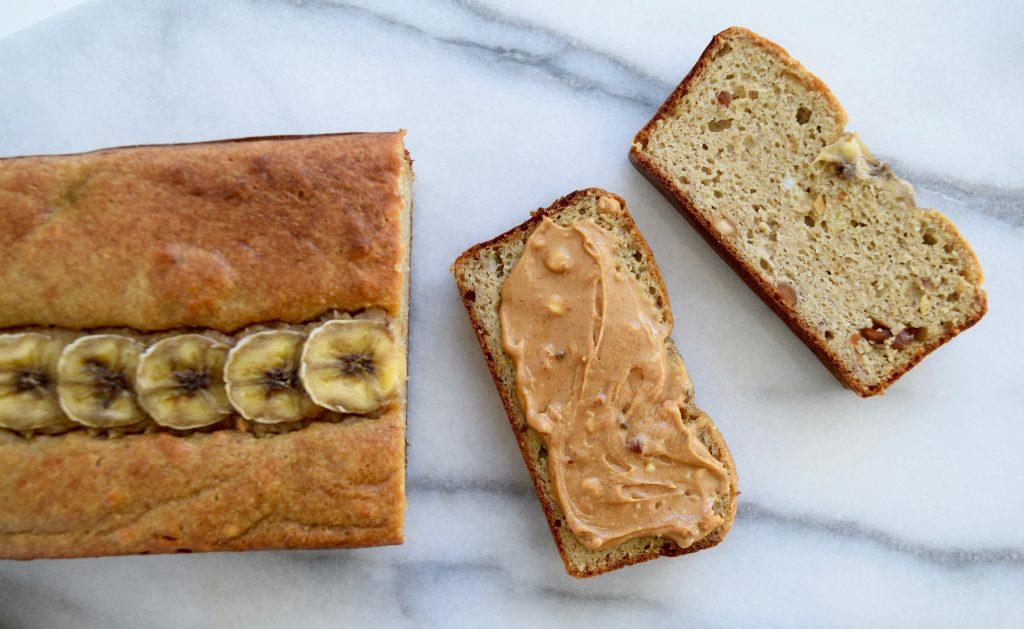 Peanut Butter Banana Bread Maria MArlowe