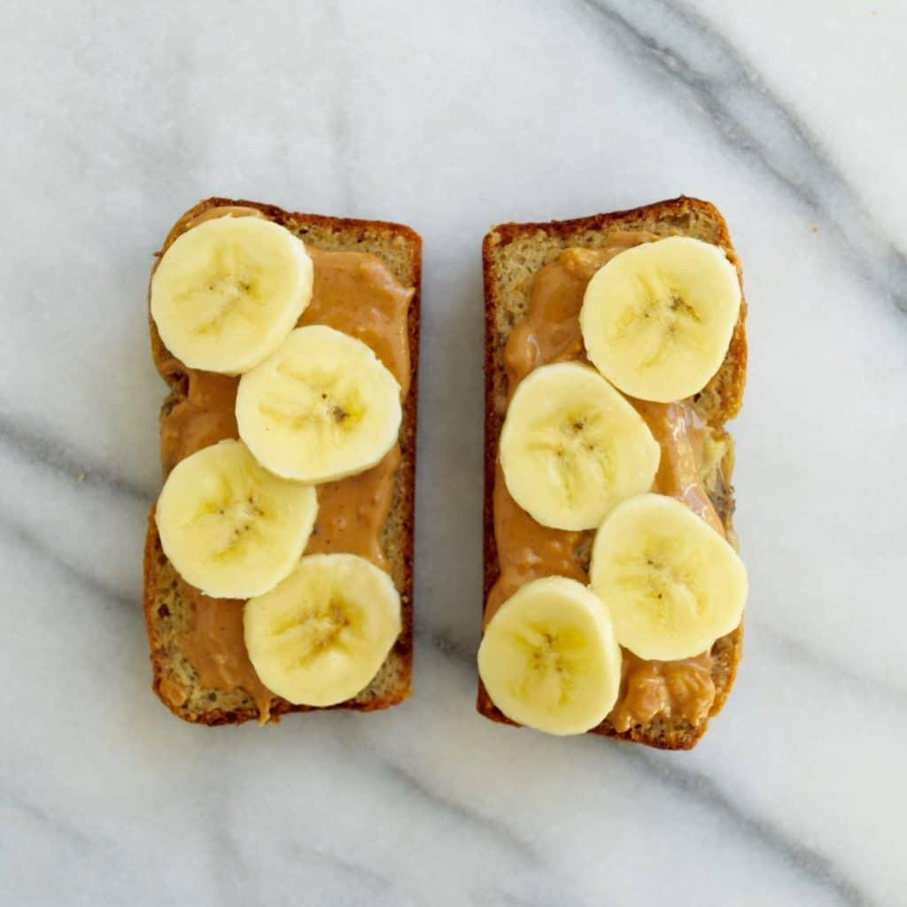 Peanut butter Banana Bread Maria Marlowe 3