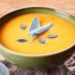 Savory Pumpkin Sage Soup
