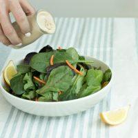 Lemon tahini salad dressing recipe