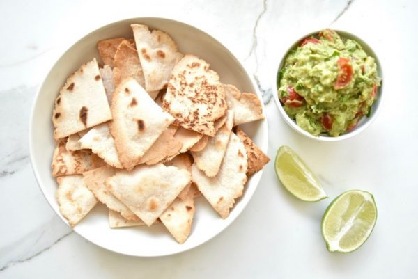 coconut cassava tortilla chips