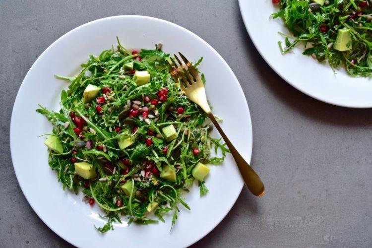 Sweet and Salty Antioxidant Salad Maria Marlowe