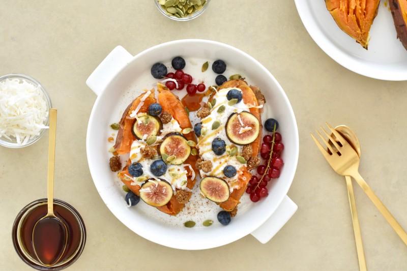 Sweet potato breakfast