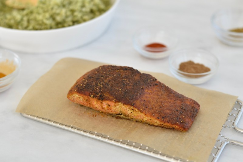 Quick Healthy Weeknight Recipes - 5-Spice Salmon