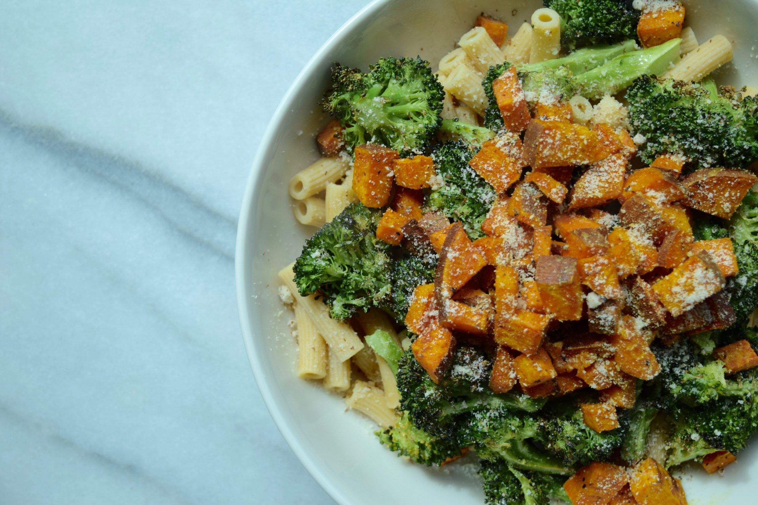 20 Min Meal Chickpea Pasta Primavera Healthy By Marlowe