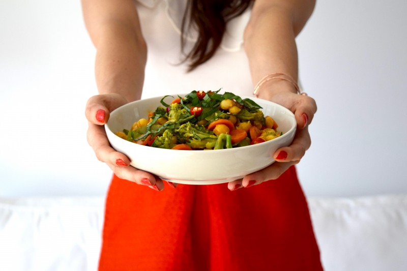 Quick Healthy Weeknight Recipes - Vegetable Curry