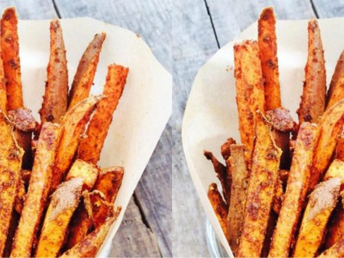 Spicy Sweet Potato Fries Healthy By Marlowe