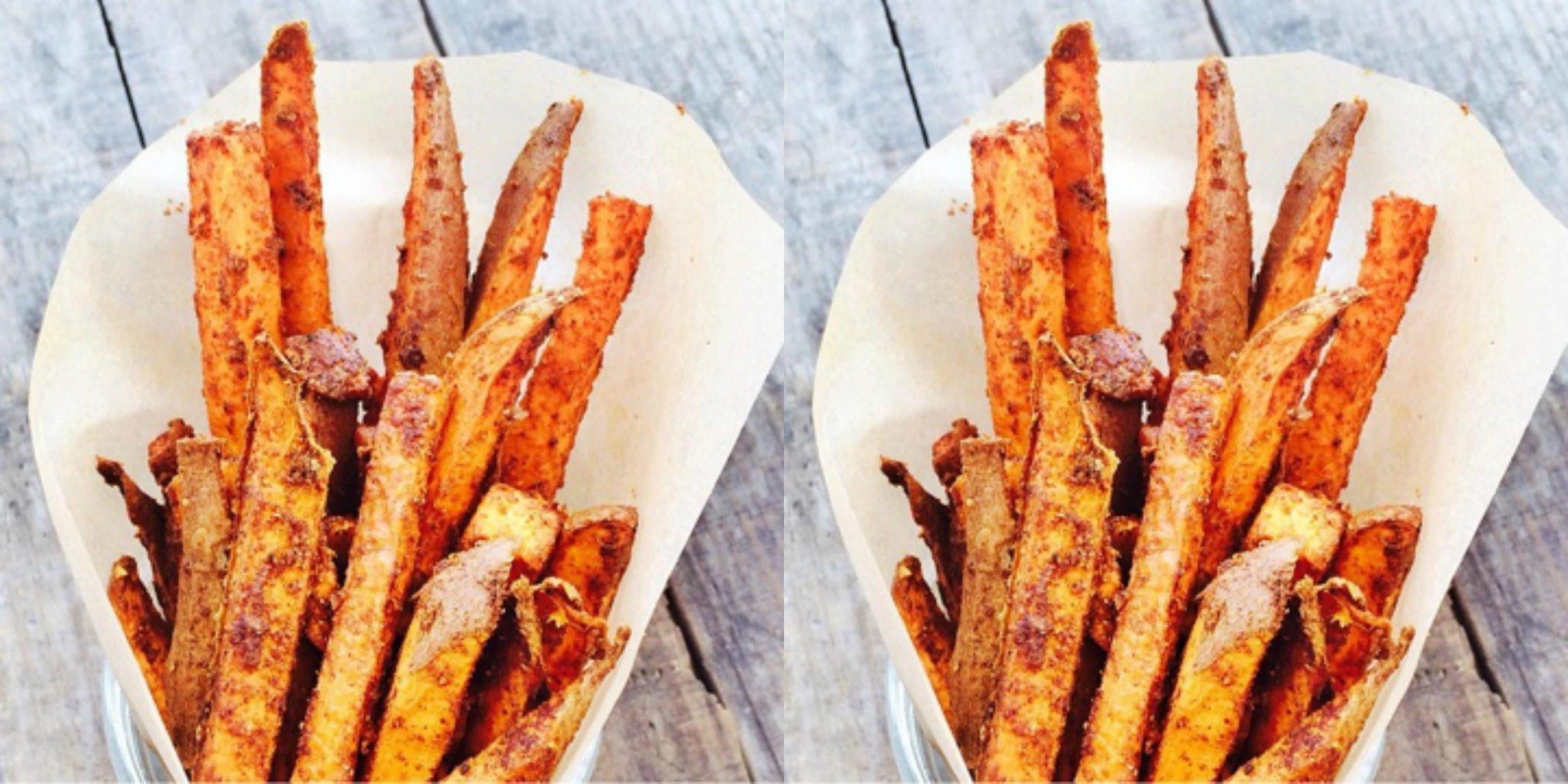 Delicious Healthy Recipes - Sweet Potato Fries