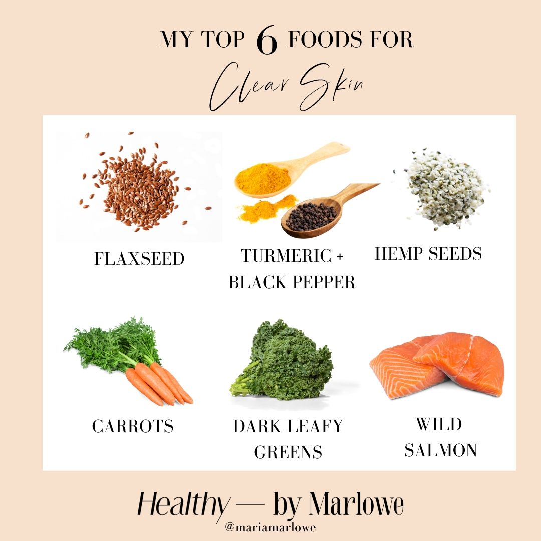 Top Foods For Clear Skin