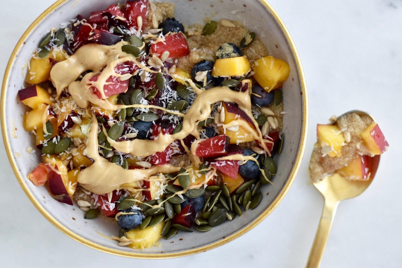 Sweet Amaranth Porridge