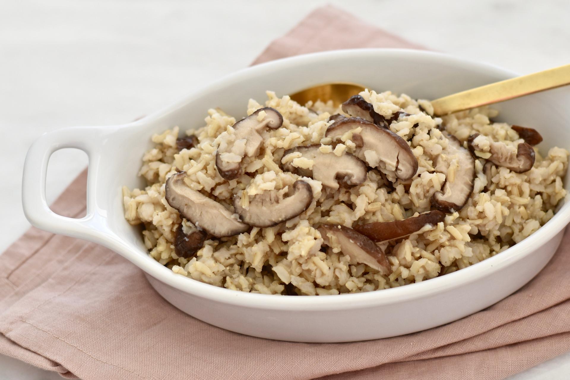 Shiitake Brown Rice