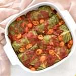 Sundried Tomato & Lentil Stuffed Cabbage Rolls