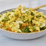 Golden Egg Cauli Fried Rice Maria Marlowe 2