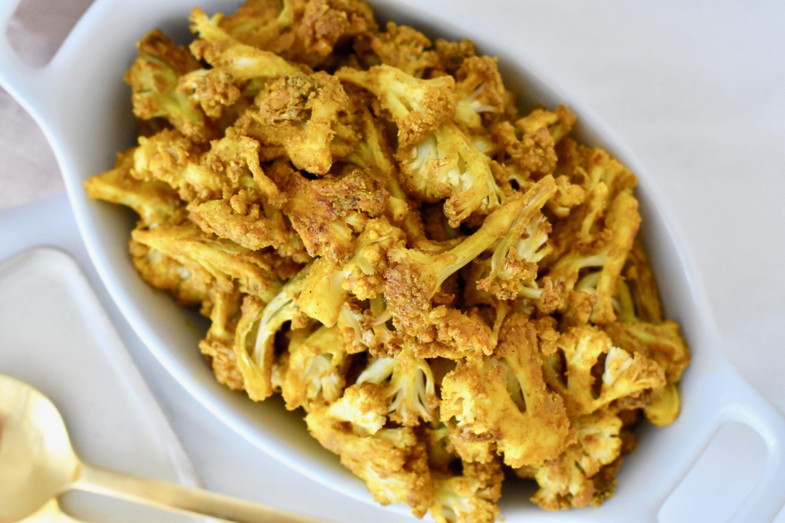 Curry Tahini cauliflower